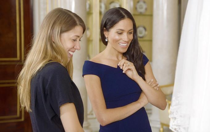 Meghan Markle Reveals Her 'Something Blue' From Royal Wedding