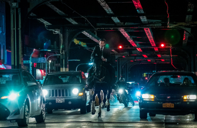 The third John Wick film is out now. Credit: Lionsgate