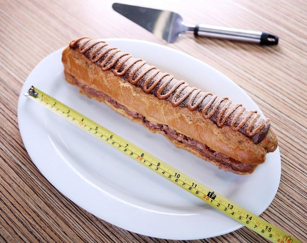 Credit Asda & Asda Is Selling A Massive Foot-Long Chocolate Eclair For Christmas ...