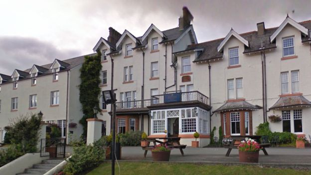 Drunk pensioners fined for terrorising hotel staff