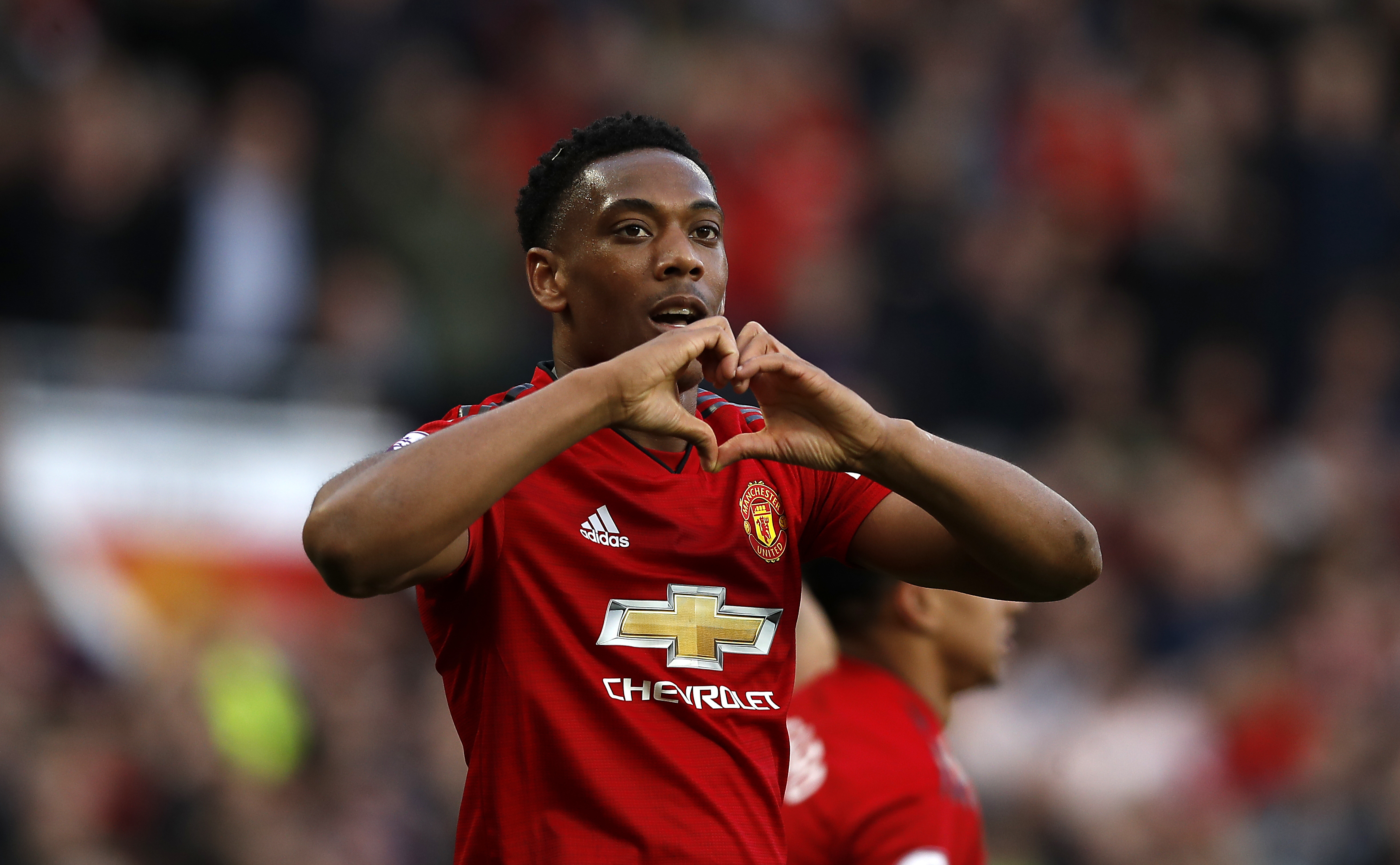 Martial had a mid season resurgence but finished poorly, much like United. Image: PA Images
