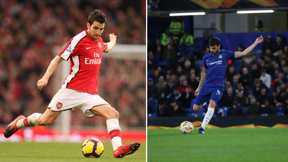 Only Ryan Giggs Has More Assists Than Cesc Fabregas In The Premier League