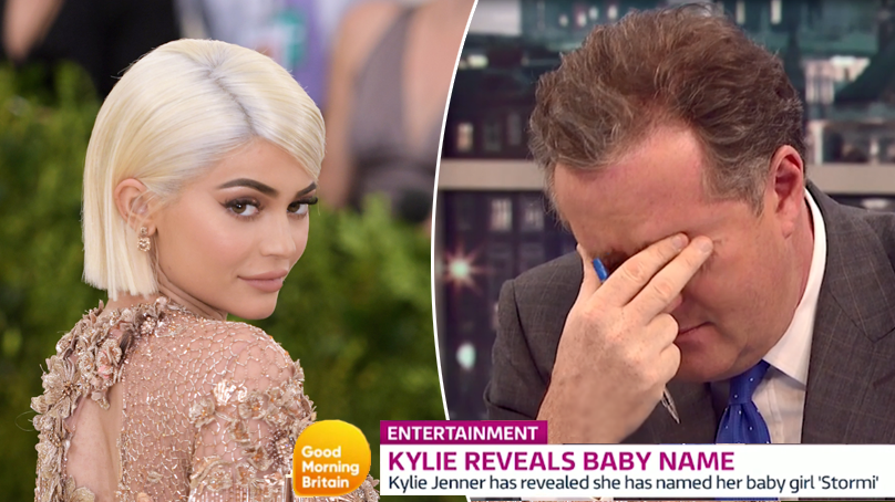 Piers Morgan Isn't Impressed By Kylie Jenner's Choice Of Baby Name