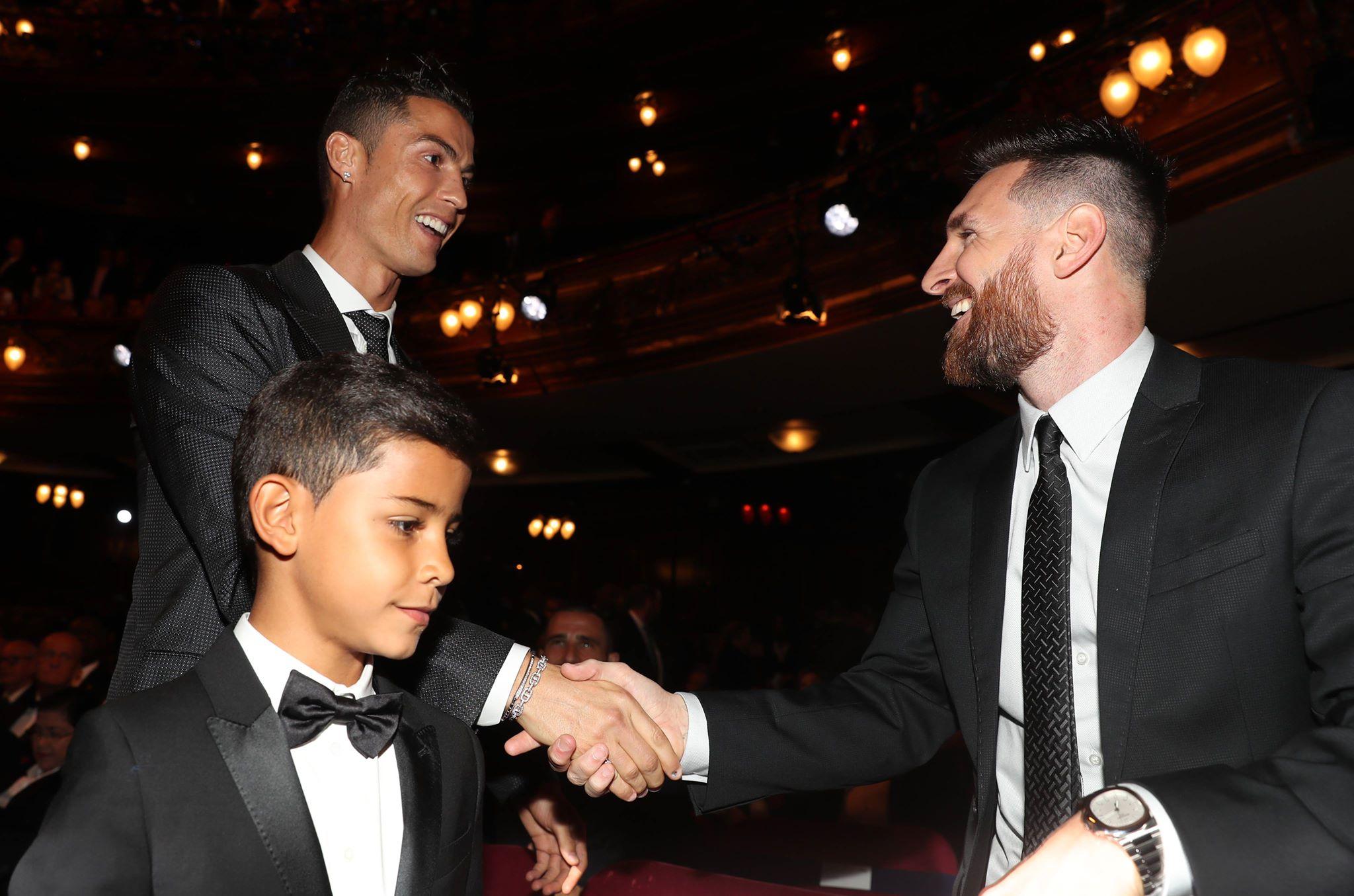 Cristiano Ronaldo wins FIFA's The Best award, edging Lionel Messi and Neymar