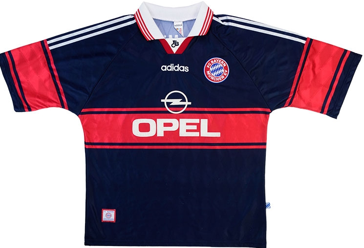 new products ced62 a13ad Bayern Munich's New Away Kit Is Hot Fire - SPORTbible