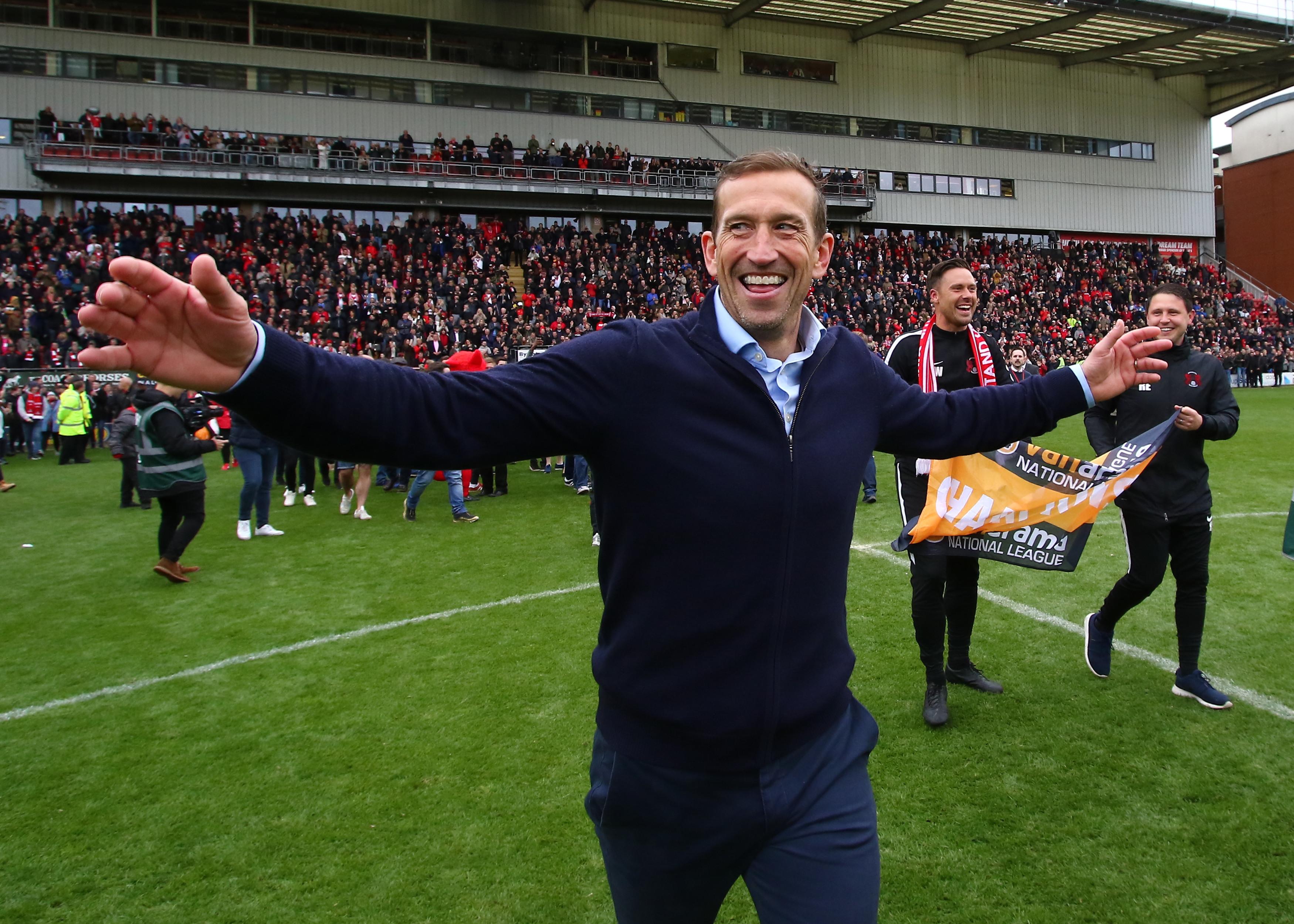 Just weeks ago Edinburgh was celebrating winning the National League. Image: PA Images