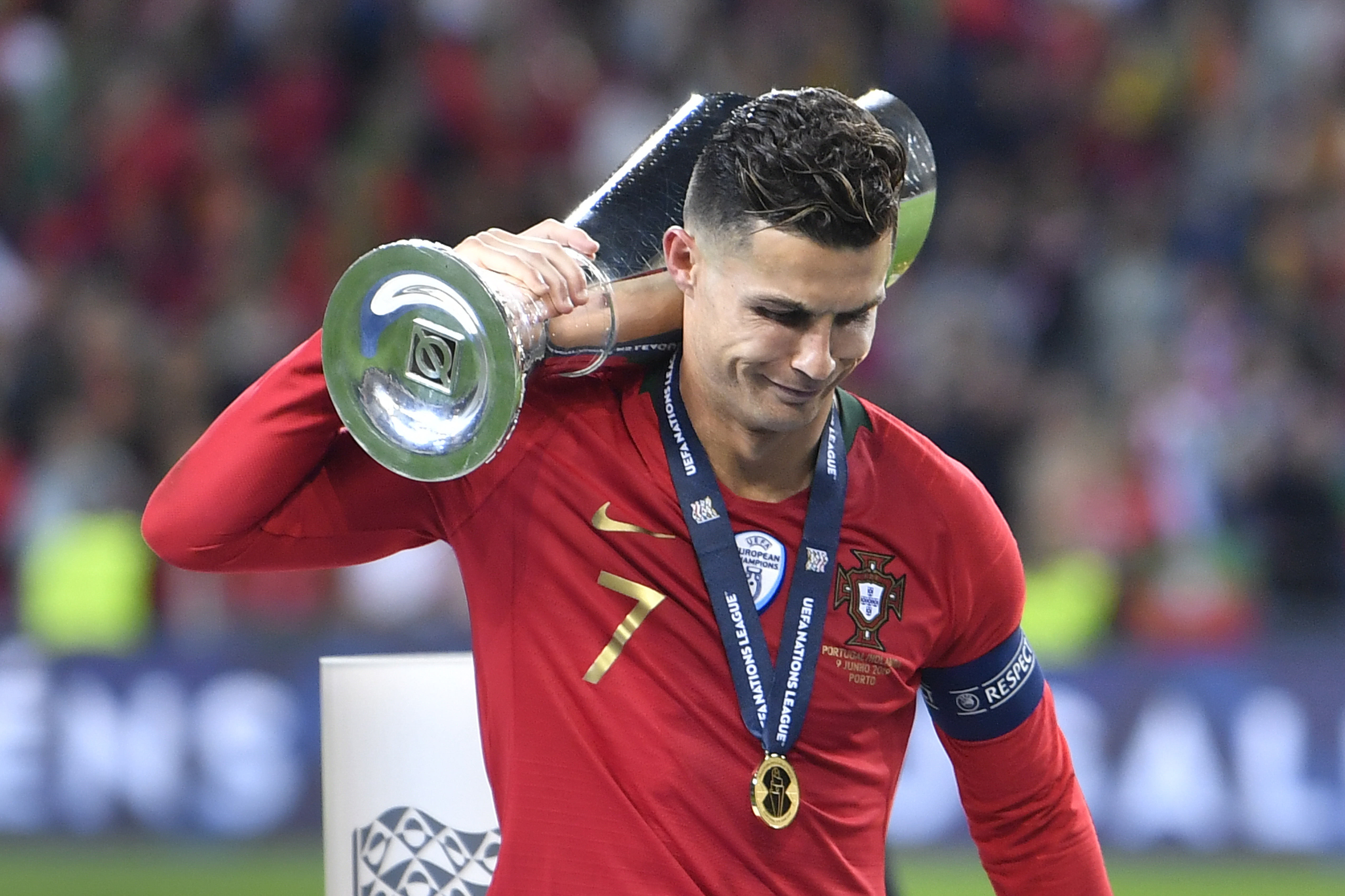 Cristiano Ronaldo Has Won More Uefa Trophies Than Any Other Player Sportbible