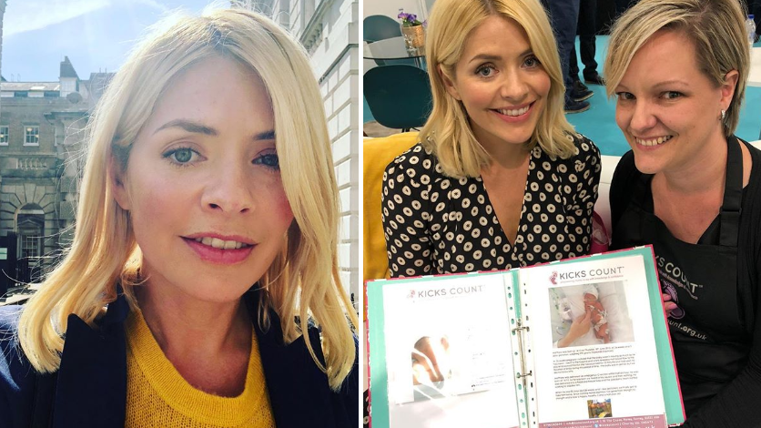 Charity Praises Holly Willoughby For 'Giving Voice' To Stillbirth Prevention Campaign
