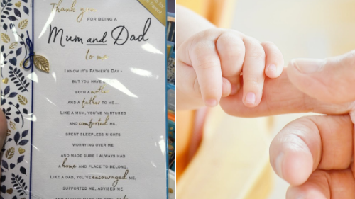 'Mum And Dad' Father's Day Card Goes Viral For All The Right Reasons
