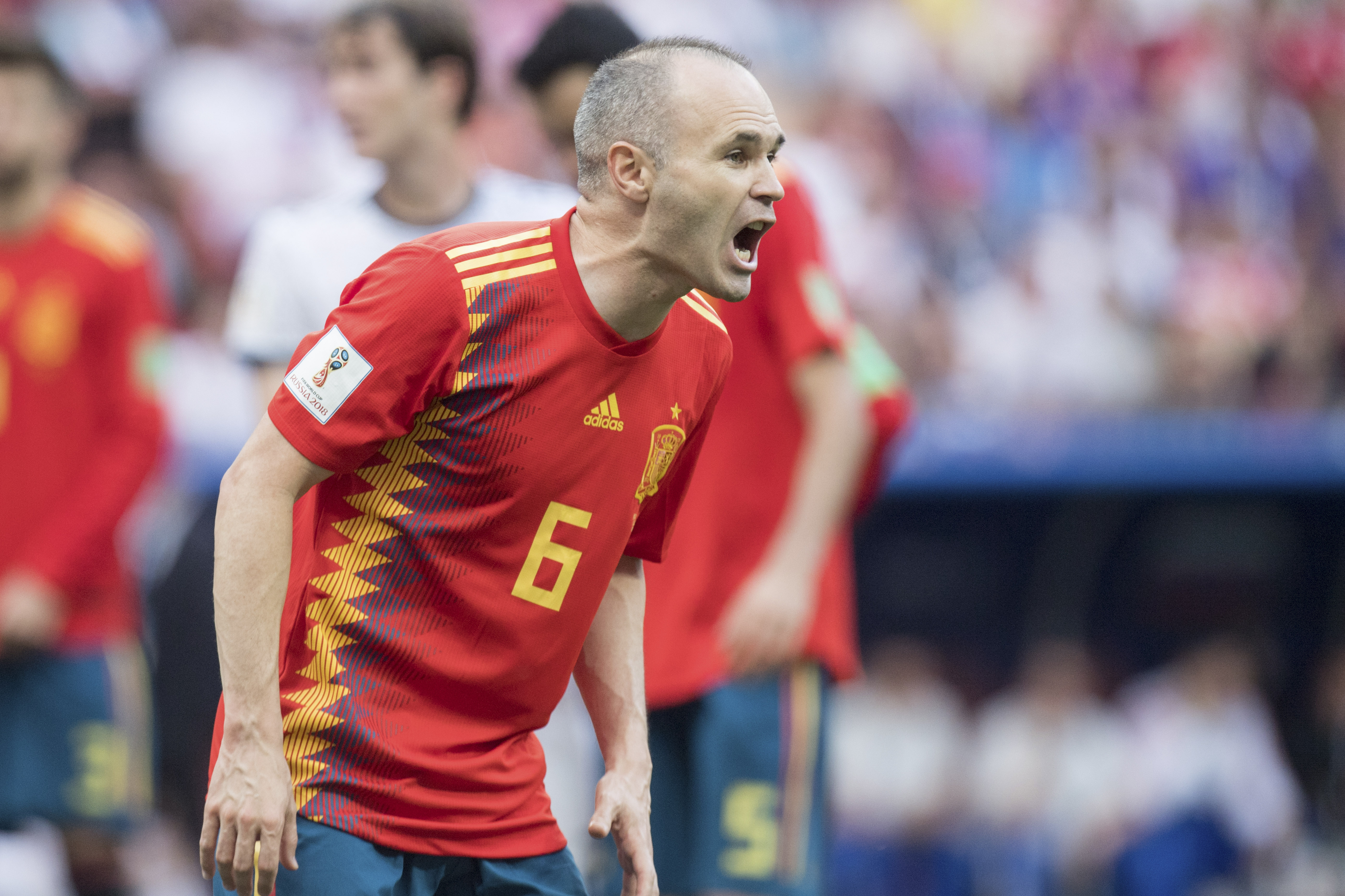 Andres Iniesta Nominated For 12th Consecutive FIFA FIFPro