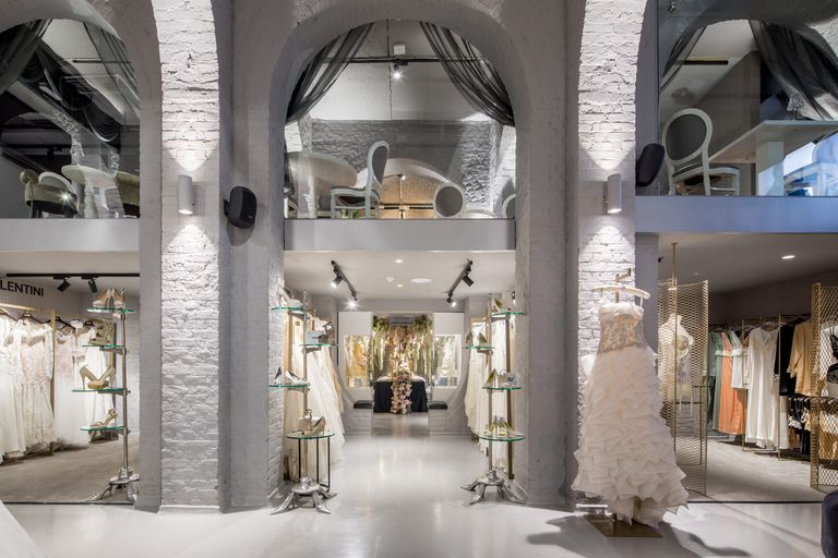 The department store stocks over 200 dress designers. (Credit: The Wedding Gallery)