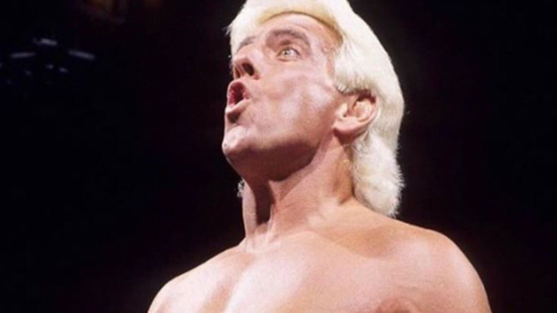 Ric Flair Posts 'Then And Now' Photo Of Him And 'The Rock'