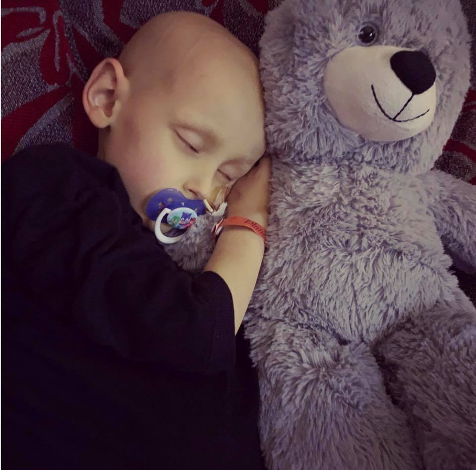 The brave boy had been fighting cancer for over two years. Credit: Charlie's Chapter/Facebook