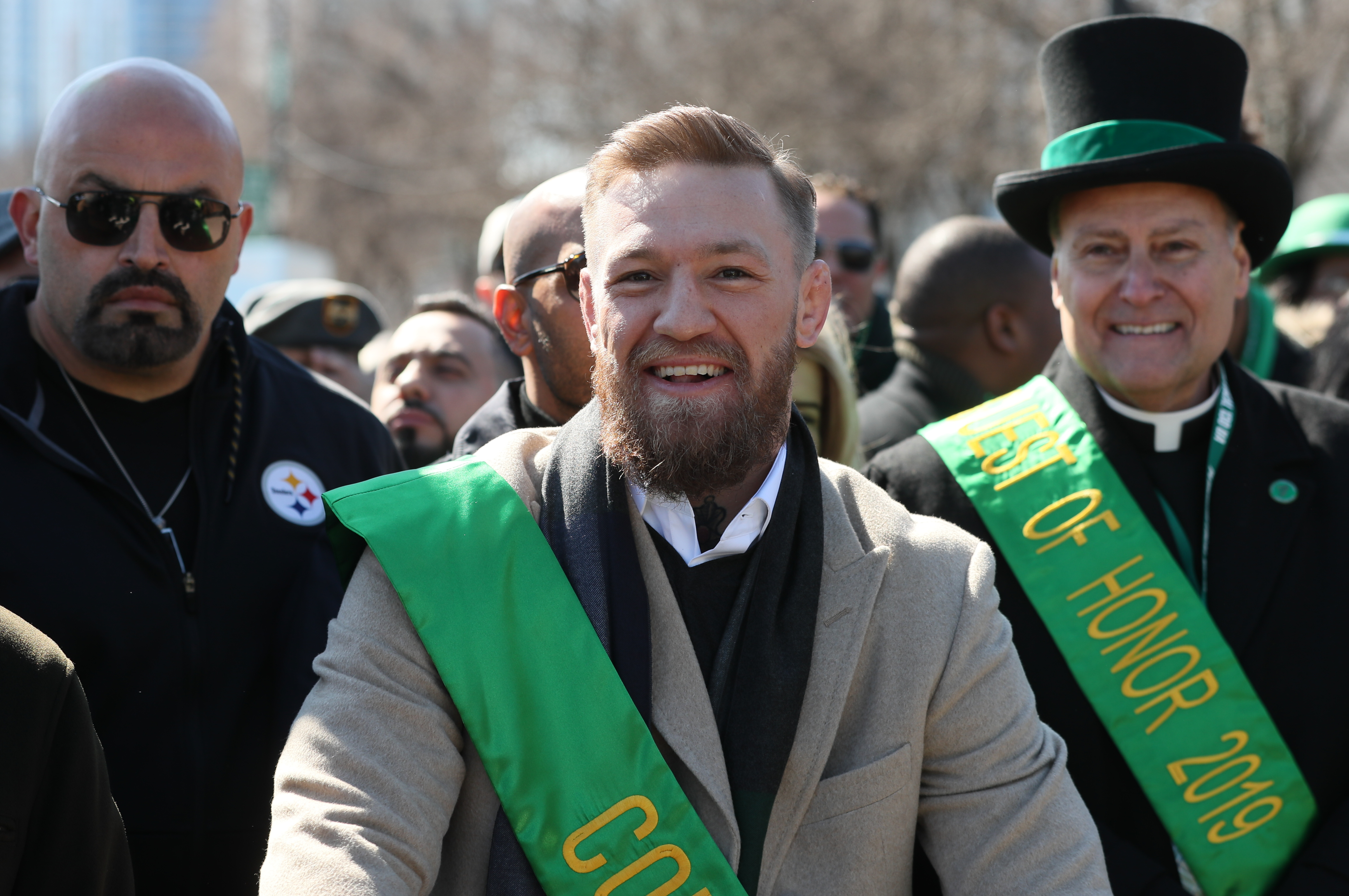 McGregor was most recently seen at Chicago's St Patrick's Day parade. Credit: PA
