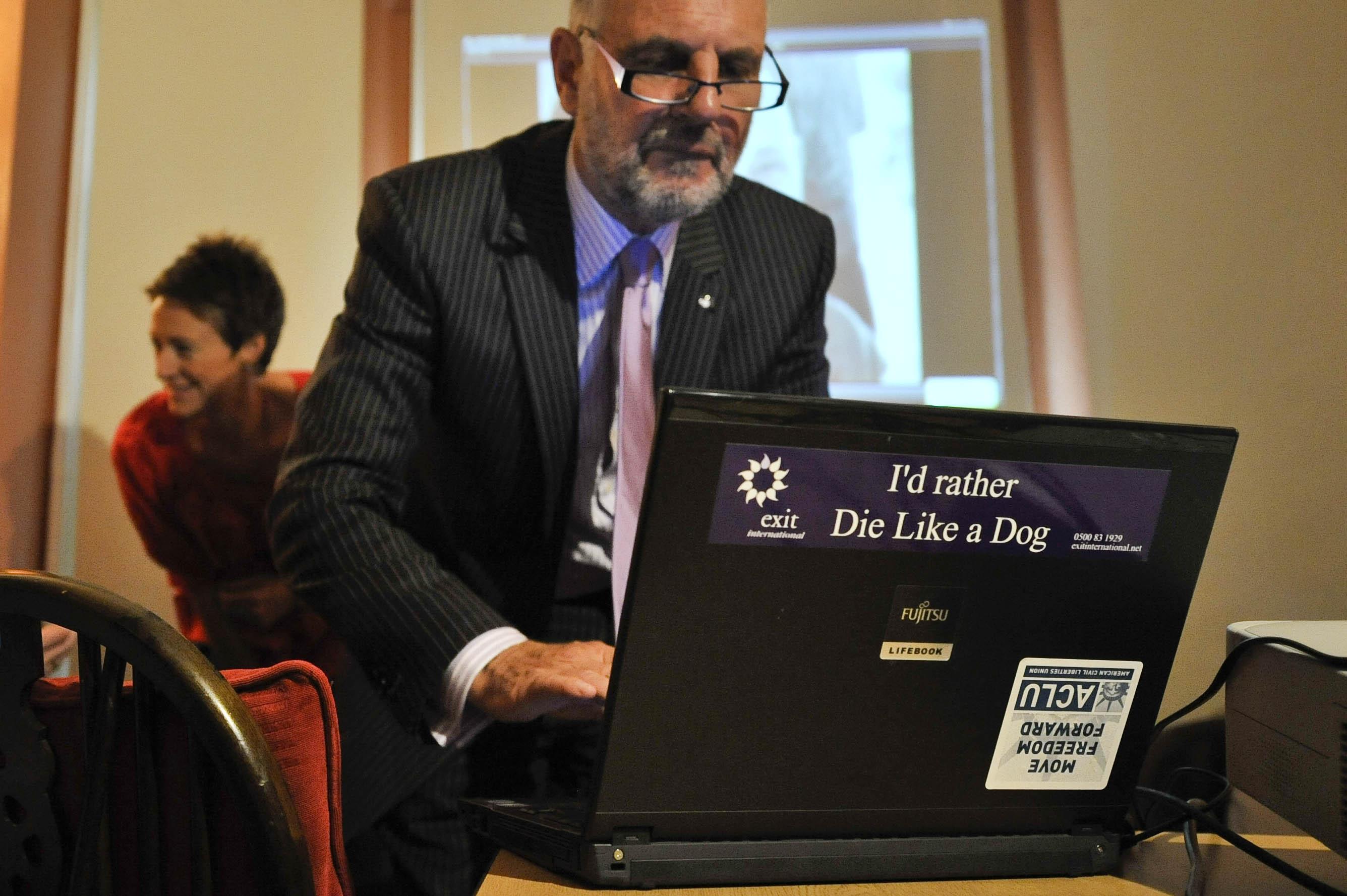 Dr Philip Nitschke (Credit: PA)
