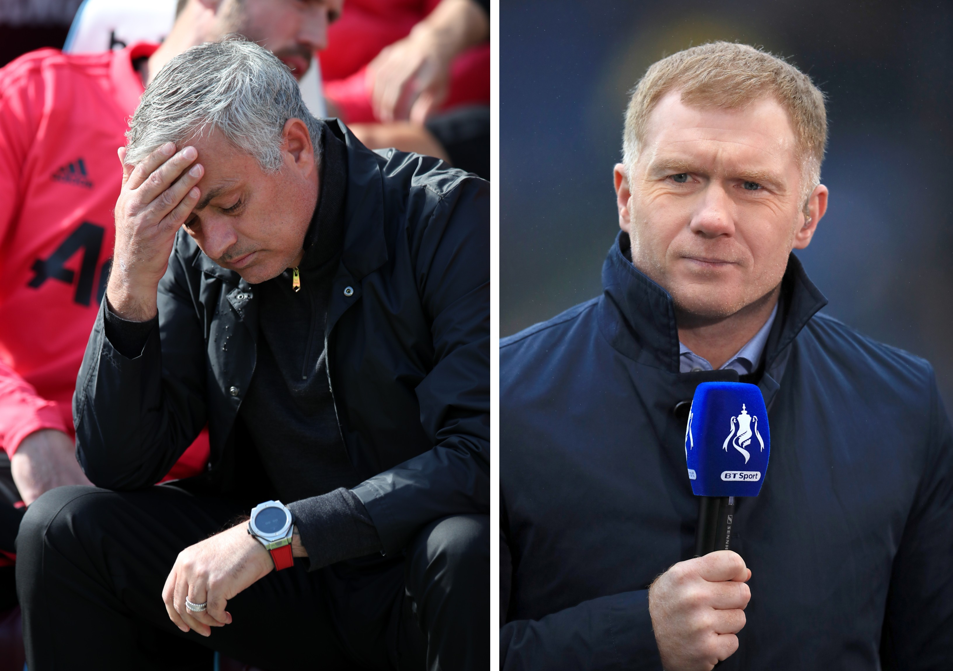 Scholes Pulls Out The Punches On Mourinho For 'Embarrassing' Manchester United