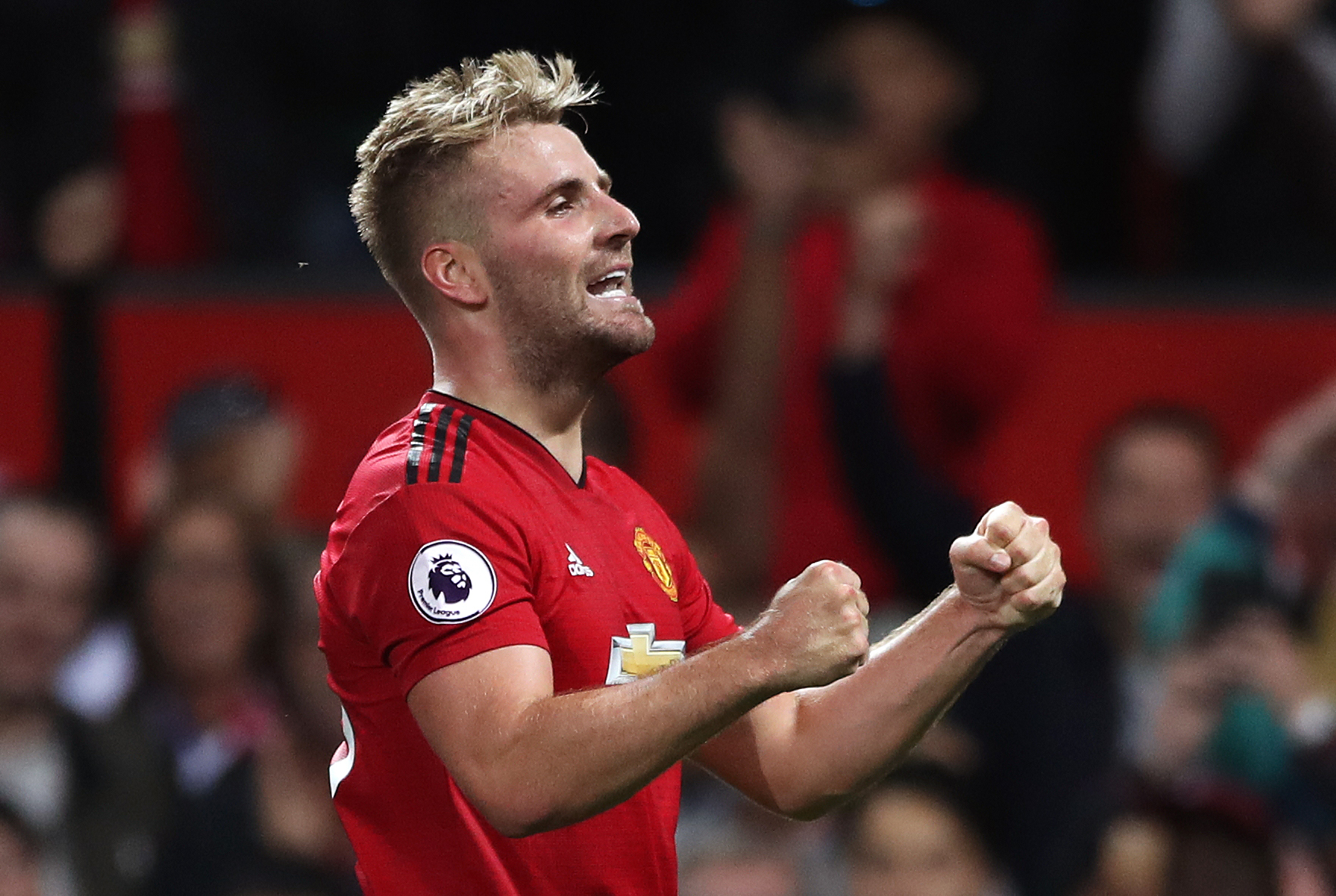 Shaw's resurgence includes scoring the winner against Leicester. Image: PA Images