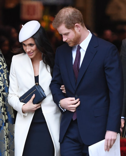Did Meghan Markle Just Drop Her Own Royal Baby Hint?