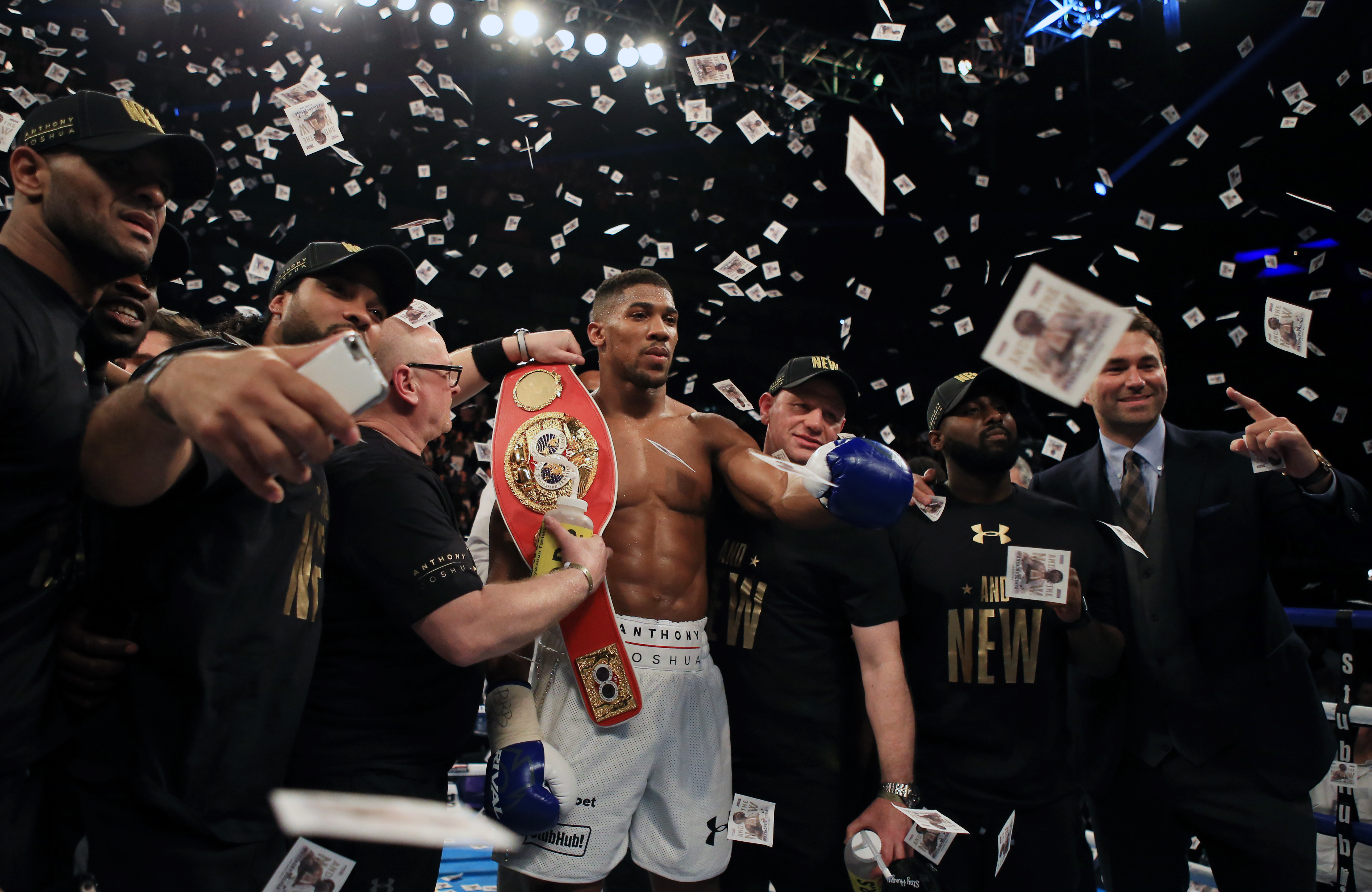 Could Joshua go to UFC and make a hell of a lot of money? Image: PA Images