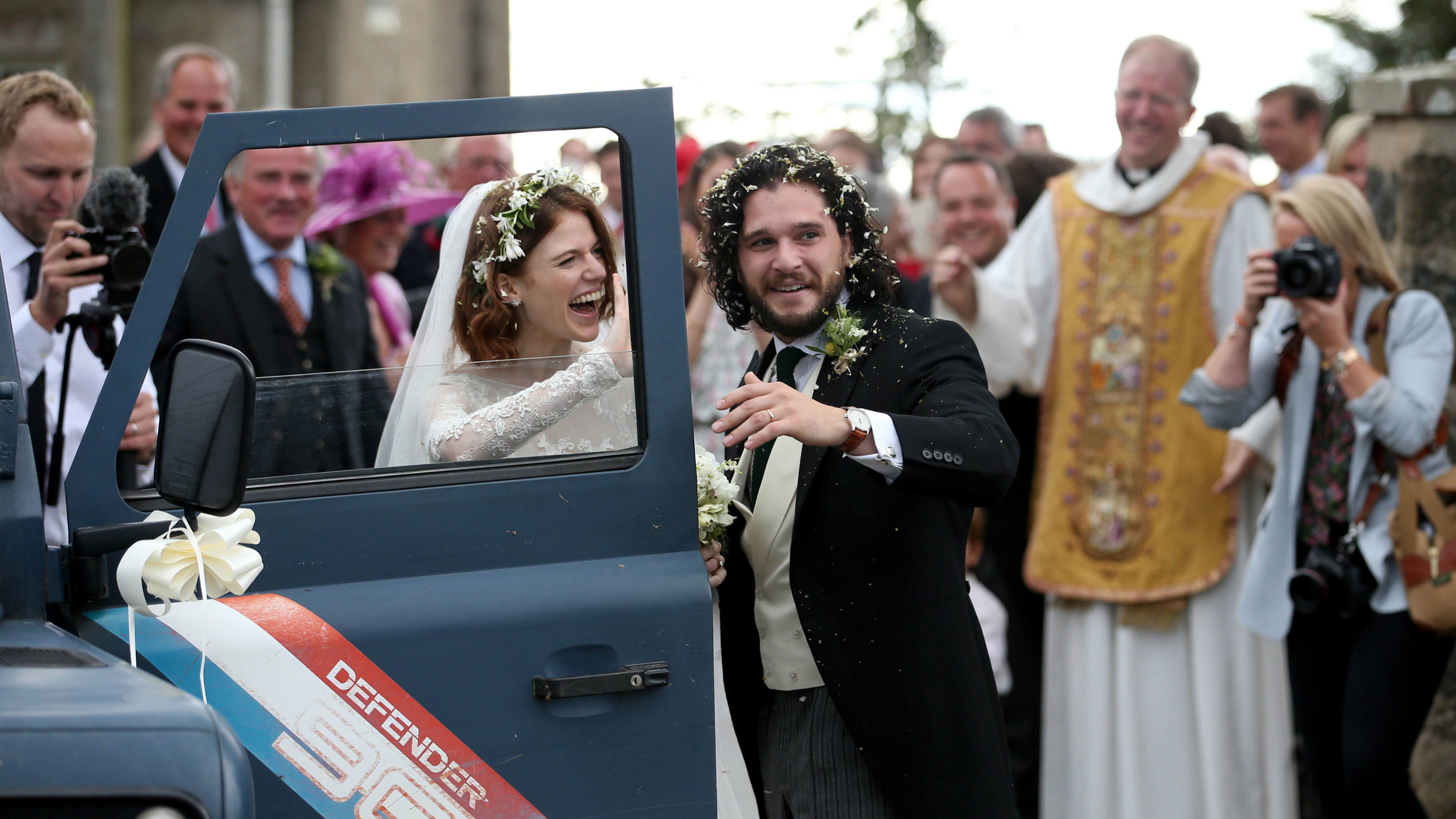 Kit Harington And Rose Leslie Are Officially Married Ladbible