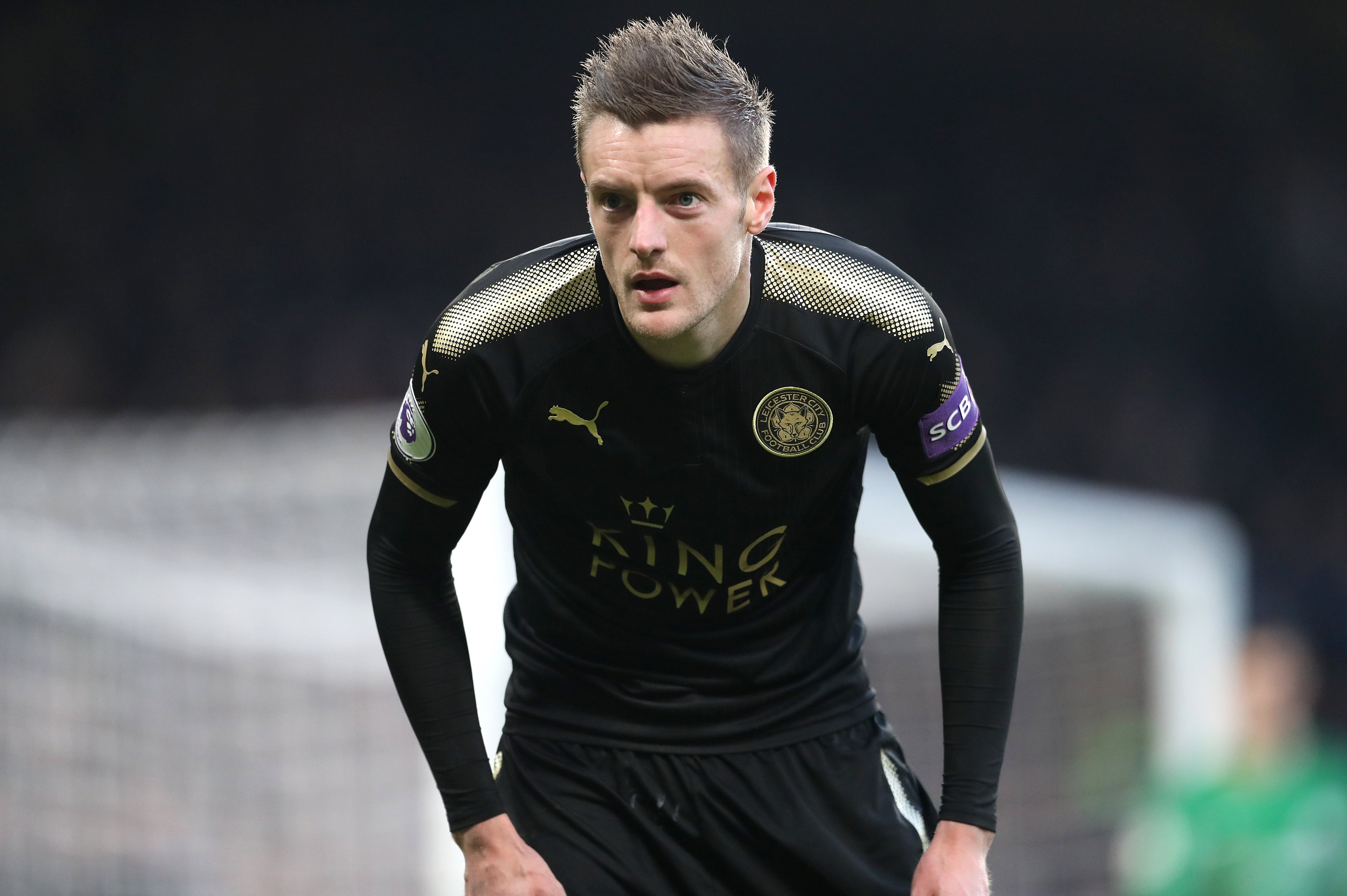 Jamie Vardy rubbishes Chelsea move