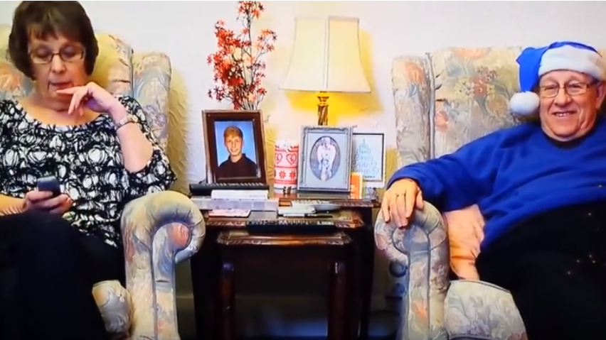 Leon Bernicoff's Greatest 'Gogglebox' Moment Was A Suitably Christmassy One