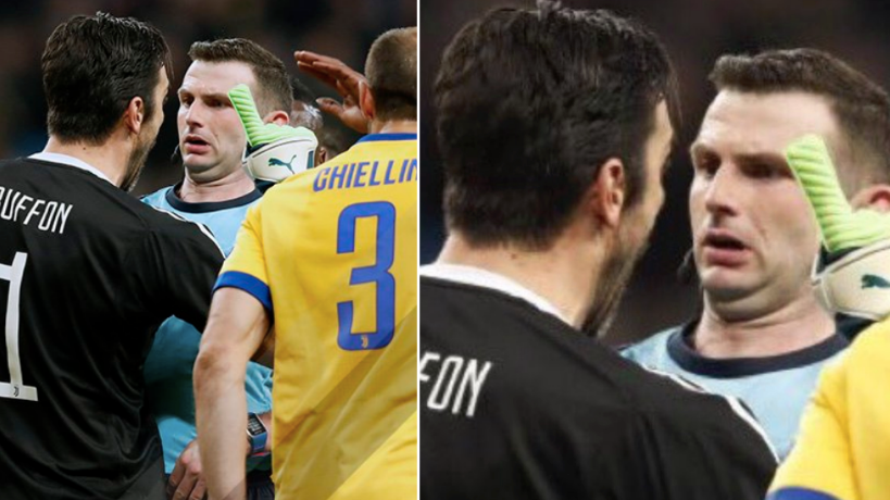 df3b9f29075 What Gianluigi Buffon Allegedly Said To The Referee When He Was Sent Off