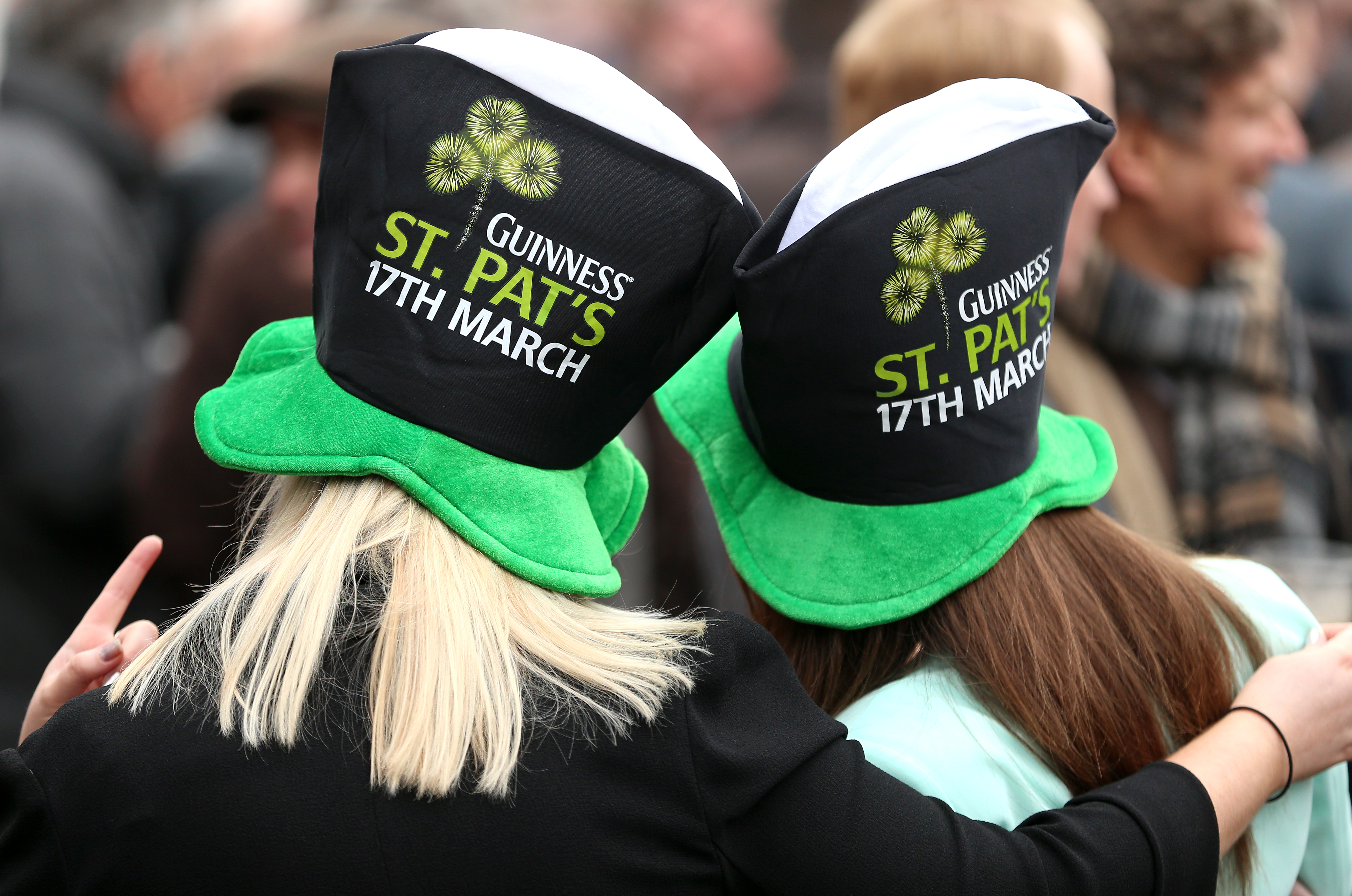 There's less than a week to go until St Patrick's Day. Credit: PA