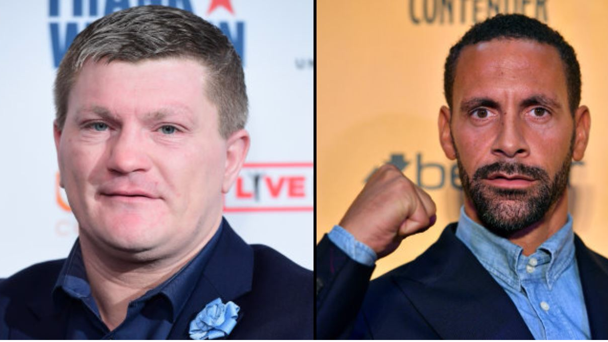 Ricky Hatton Has Said He Would Return To Boxing To Fight Rio Ferdinand
