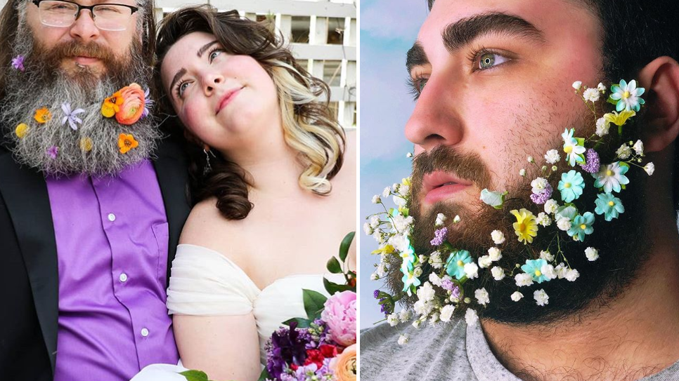 Beard Bouquets Are The Wedding Trend No One Asked For