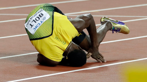 Yohan Blake Reveals What Happened To Usain Bolt In His Final Race