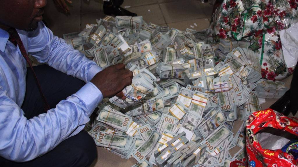 Nigerian Cops Find $43 Million In Apartment After Responding To Tip-Off