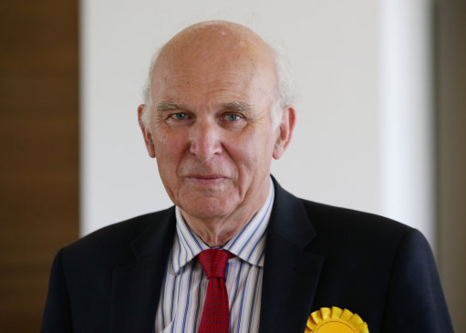 Sir Vince Cable elected unopposed to Lib Dem leadership