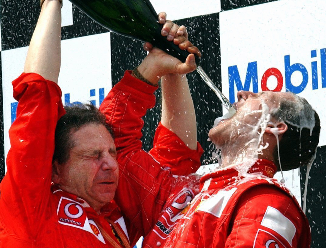 Schumacher is widely regarded as one of the best Formula 1 drivers ever. Credit: PA