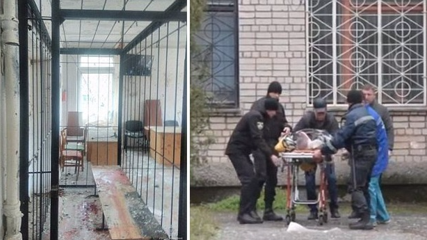 Father Of Murder Victim Uses Grenade To Blow Up Ukrainian Courtroom
