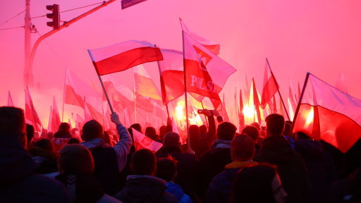 60,000 Nationalists March On Poland's Independence Day