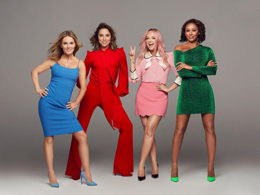 You could be joining the girls on tour. (Credit: Spice Girls)